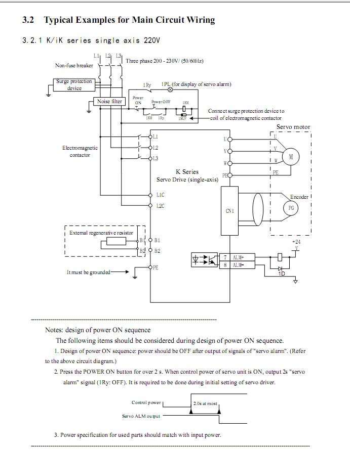 K IK-6-Main Circuit Wiring