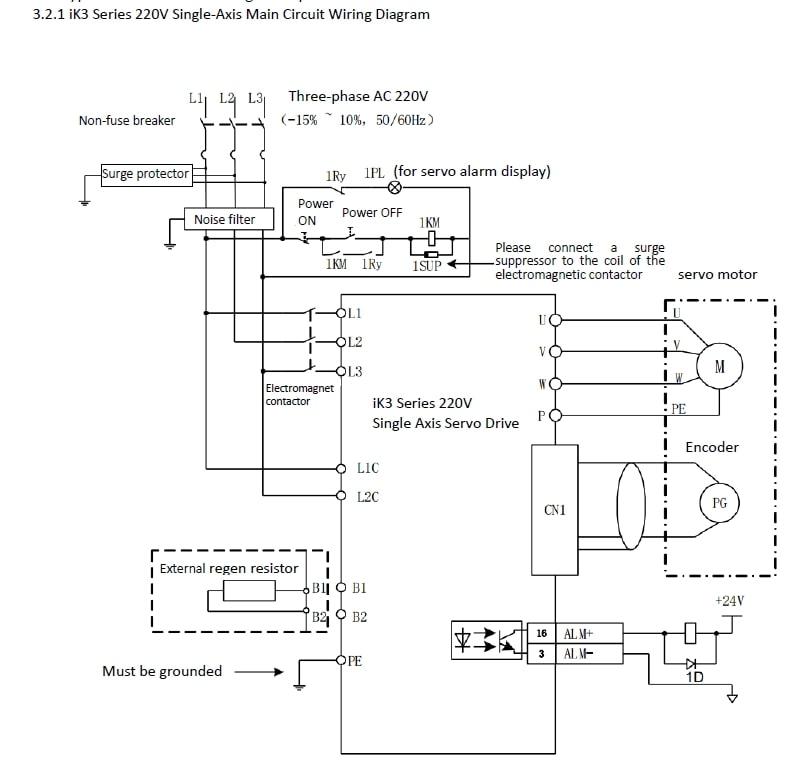 ik3-11-main circuit wiring example