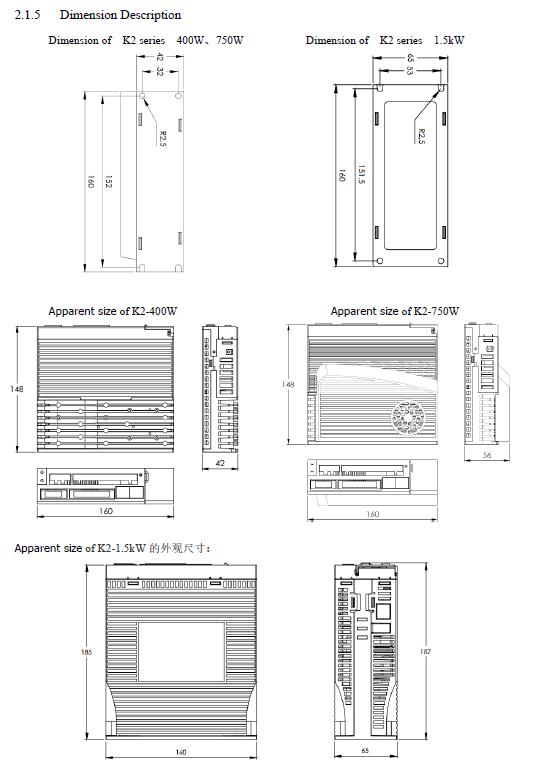 K2-3-Dimension Description