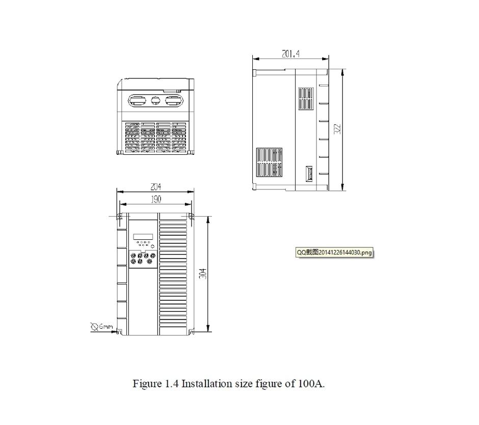 DO-13ia-4-Installation Size100A